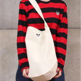 チャイルドウーマン(CHILD WOMAN)のCILD WOMAN  ディズニーワッペン付きボーダーロンT(Tシャツ(長袖/七分))