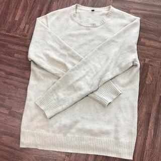 ムジルシリョウヒン(MUJI (無印良品))の綿100%  セーター(ニット/セーター)