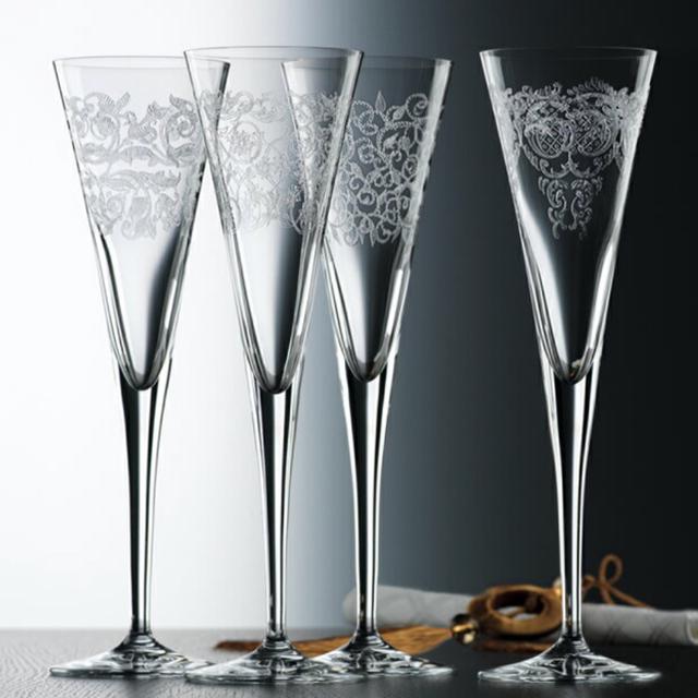 Nachtmann(ナハトマン)のNachtmannシャンパングラス4つセット インテリア/住まい/日用品のキッチン/食器(グラス/カップ)の商品写真