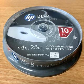ヒューレットパッカード(HP)の★新品未開封★ HP BD-R 25GB 4倍速 10枚入 不織布ケース15枚付(PC周辺機器)
