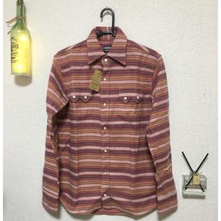 コジマジーンズ(児島ジーンズ)の新品未使用 桃太郎ジーンズ チェックシャツ38サイズ(シャツ)