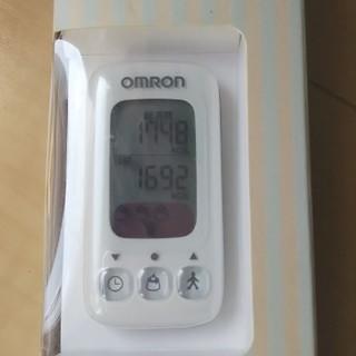 オムロン(OMRON)の未開封中古 OMRON 活動量計 HJA-310-W(エクササイズ用品)