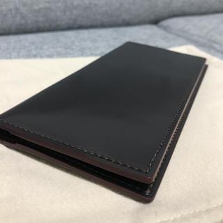ガンゾ(GANZO)の【GANZO】SHELL CORDOVAN 2 長財布  バーガンディ(長財布)