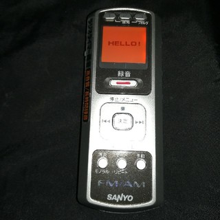 サンヨー(SANYO)のSanyo FM·AMラジオ付ボイスレコーダー(ラジオ)