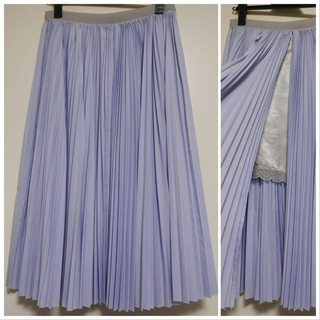 サカイラック(sacai luck)のsacai luck プリーツスカート2(ロングスカート)