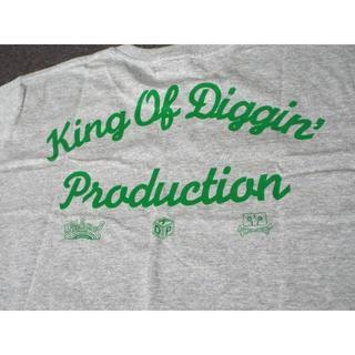 キングオブディギィン(KING OF DIGGIN')の【未使用】キング オブ ディギン Tシャツ グレー MB177(Tシャツ/カットソー(半袖/袖なし))