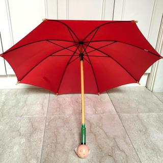 ヴィラック(vilac)の【VILAC】ヴィラック 傘 木製 赤 ナース フランス玩具(傘)