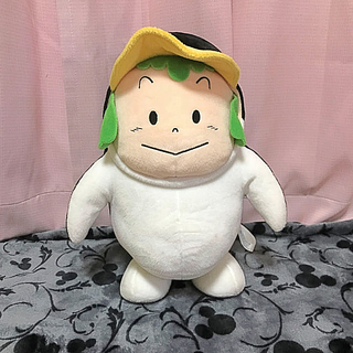 タイトー(TAITO)のがっちゃんの被り物ぬいぐるみ❣️(キャラクターグッズ)