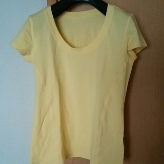 ディーエイチシー(DHC)のま~様専用DHCのさわやかな黄色いTシャツ サイズL ストレッチ他(Tシャツ(半袖/袖なし))