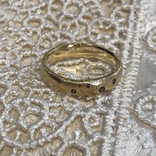 エテ(ete)の🖤ete ブラウンダイヤリング(リング(指輪))