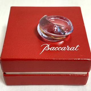バカラ(Baccarat)のBaccarat バカラ クリスタル K18 リング 指輪(リング(指輪))