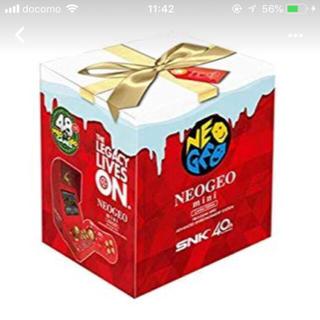 ネオジオ(NEOGEO)のネオジオミニ  クリスマス限定(家庭用ゲーム本体)