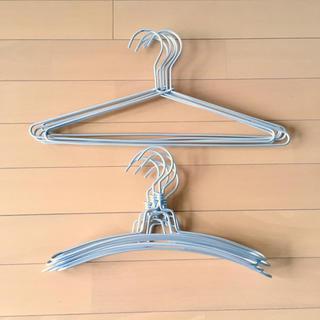 ムジルシリョウヒン(MUJI (無印良品))の無印良品 アルミハンガー セリア 3D アルミハンガー  セット(押し入れ収納/ハンガー)