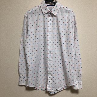 ザラ(ZARA)のZARA men 刺繍 シャツ(シャツ)