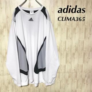 アディダス(adidas)の美品 adidas CLIMA 365 クルーネック 長袖Tシャツ (Tシャツ/カットソー(七分/長袖))