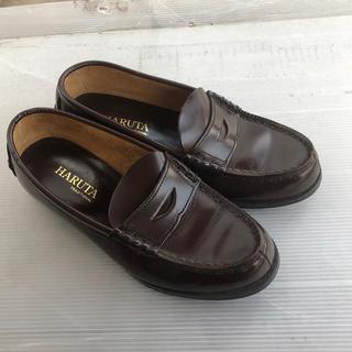ハルタ(HARUTA)のHARUTA ローファー 茶色 23.5cm(ローファー/革靴)