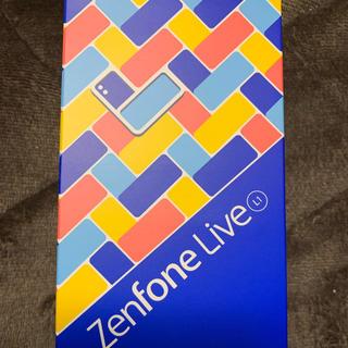エイスース(ASUS)のZenfone live L1 新品未使用品。(スマートフォン本体)
