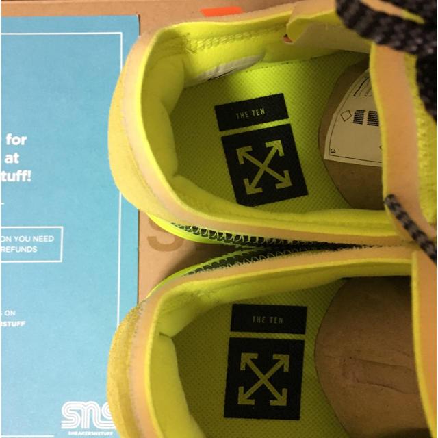 NIKE(ナイキ)のNIKE x off-white エアフォースワン LOW VOLT メンズの靴/シューズ(スニーカー)の商品写真