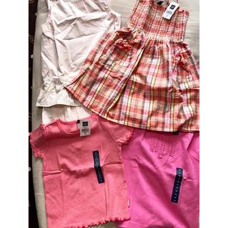 ギャップ(GAP)の新品未使用 GAP 子供服 4点セット(Tシャツ/カットソー)