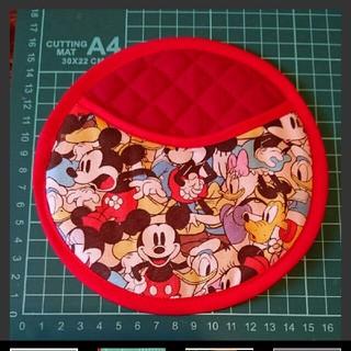 ディズニー ボウリング 手作り 皮製 シャミー ボール拭き ボールクロス(ボウリング)