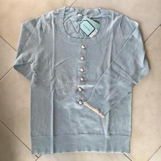 ニーム(NIMES)の【新品・未使用】Nîmes Le petit Bleu 七分袖カットソー(カットソー(長袖/七分))