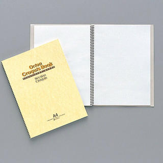 新品未使用!クロッキーブック A4サイズ  (スケッチブック/用紙)