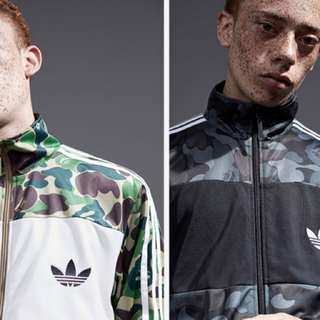 A BATHING APE - a bathing ape adidas jacket