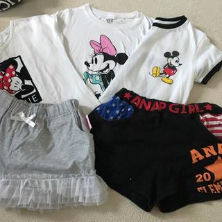 Disney - Disney Tシャツ まとめ売り 120〜130