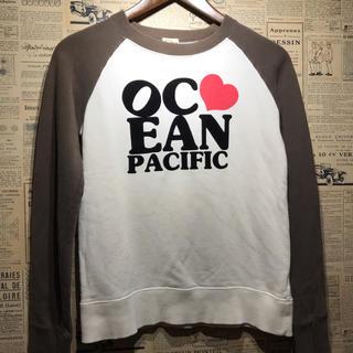 オーシャンパシフィック(OCEAN PACIFIC)のOCEAN PACIFIC オーシャンパシフィック スウェット サイズF(トレーナー/スウェット)