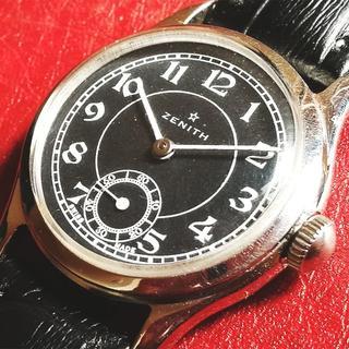 ゼニス(ZENITH)のZENITH ゼニス レディース 腕時計 動作良好 ビンテージ 機械式 手巻き(腕時計)