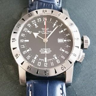 グリシン(GLYCINE)のGLYCINE(グリシン) エアマン GMTワールドタイマー 型番3820 (腕時計(アナログ))