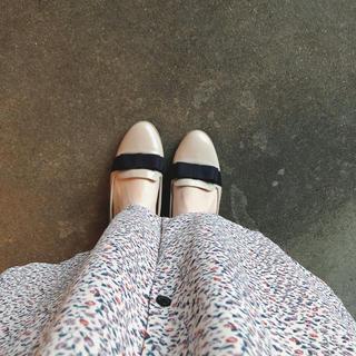 オリエンタルトラフィック(ORiental TRaffic)のくすみピンク ローファー(ローファー/革靴)
