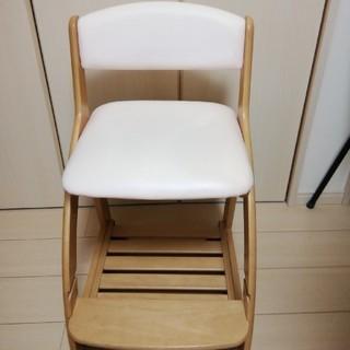 コイズミ 学習机椅子 ピンク
