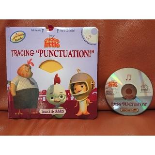 """ディズニー(Disney)の洋書 chicken little TRACING """"PUNCTUATION!""""(洋書)"""