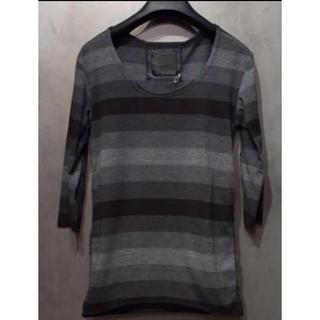 オーレット(OURET)のOURETグラデーションボーダーカットソー(Tシャツ/カットソー(七分/長袖))
