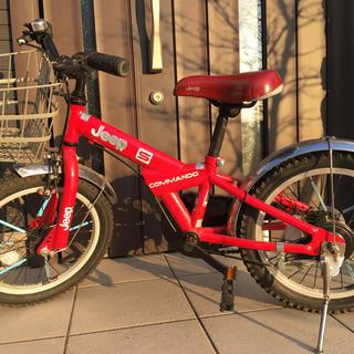 ジープ(Jeep)のジープ 子供自転車 16インチ(自転車)