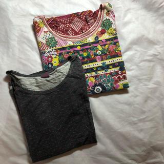 キューブシュガー(CUBE SUGAR)のCUBE SUGAR ロンT 2枚セット(Tシャツ(長袖/七分))