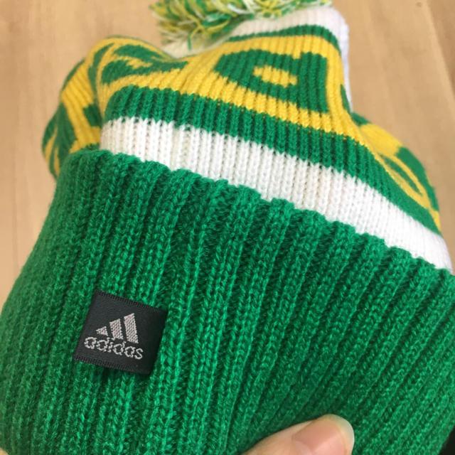 adidas(アディダス)のニット帽 レディースの帽子(ニット帽/ビーニー)の商品写真