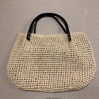 シマムラ(しまむら)の【お値下げ】カゴ編み バック 新品(かごバッグ/ストローバッグ)