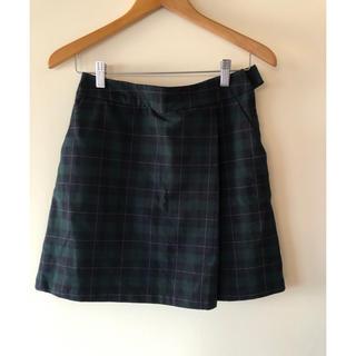 ローリーズファーム(LOWRYS FARM)のローリーズファーム チェック台形スカート 膝上スカート(ミニスカート)