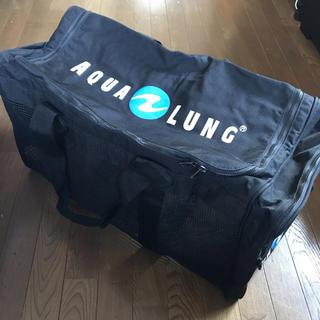 アクアラング(Aqua Lung)のアクアラング 大型メッシュバッグ  ダイビングバッグ(マリン/スイミング)
