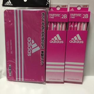 アディダス(adidas)の アディダス  色鉛筆12色セット かきかたえんぴつ 2B 2ダース セット  (鉛筆)