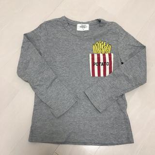 グリーントマト(GREEN TOMATO)のGREENTOMATO ロングtシャツ 110(Tシャツ/カットソー)