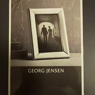 ジョージジェンセン(Georg Jensen)のジョージ ジェンセン☆フォトフレーム(L)(フォトフレーム)