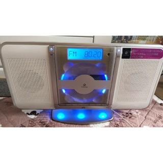 壁掛けもできるCDラジオ ※CD読み込みません(ラジオ)