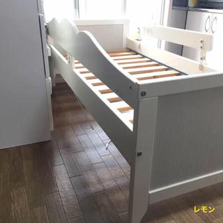 イケア(IKEA)のIKEA子供ベッド。(ベビーベッド)