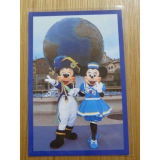 Disney - ディズニーシー ミッキー&ミニー オープン時 ポストカード