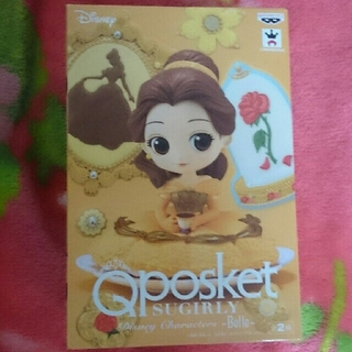 Disney - 【送料込み】Qposket SUGIRLY ベル ノーマルカラー フィギュア