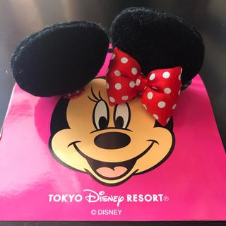ディズニー(Disney)のミニーちゃん耳(ヘアピン)