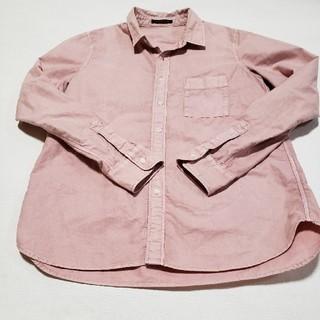 バンヤードストーム(BARNYARDSTORM)のBARNYARDSTORM     カラーダンガリーシャツ ピンク size2(シャツ/ブラウス(長袖/七分))